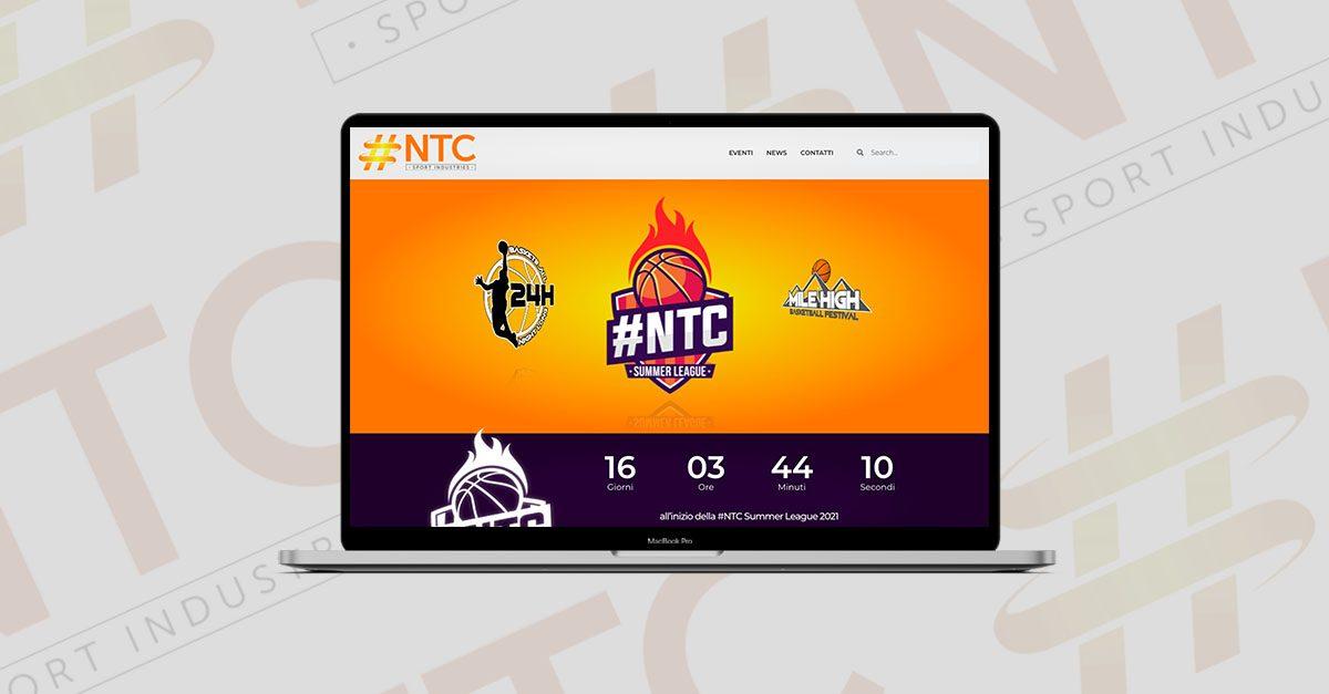 nuovo sito ntc sport industries hiello industrie digitali